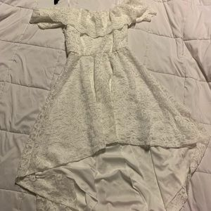 White Lace LG Dress